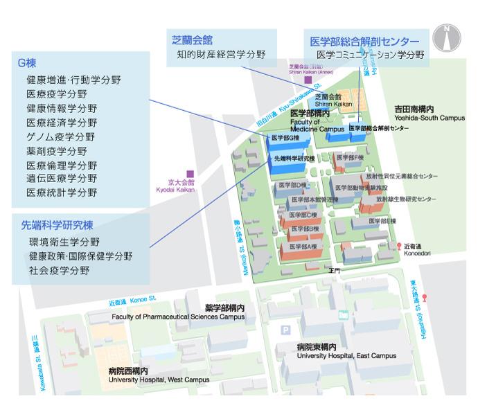 医学部校内MAP