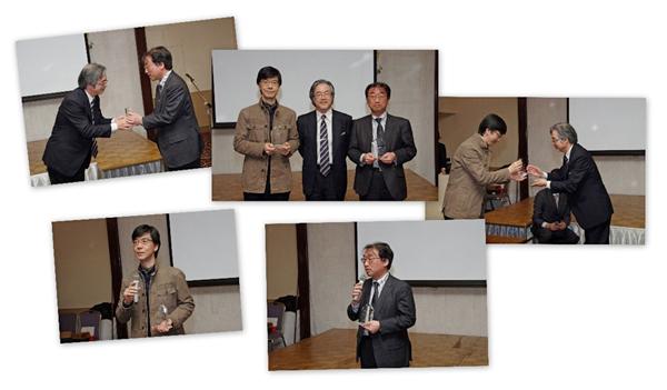 ベストティーチャー賞2012の様子