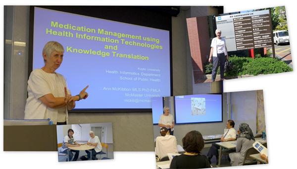 McKibbon先生(カナダMcMaster大学)による特別講演が開催されました